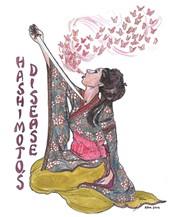 "Art by Rachel Masilamani from ""Hashimoto's Disease"""