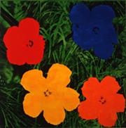 """Andy Warhol's """"Flowers"""" (1964) - THE ANDY WARHOL MUSEUM, ©THE ANDY WARHOL FOUNDATION FOR THE VISUAL ARTS, INC."""