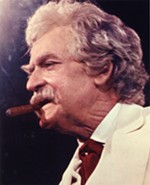 Hal Holbrook as Mark Twain - PHOTO COURTESY OF THE PITTSBURGH CULTURAL TRUST