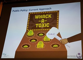 Marya Zlatnik says the country's current public policy approach to toxins is reactionary
