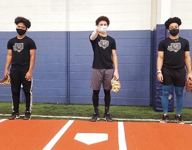 Members of Pittsburgh Hardball Academy - PHOTO COURTESY OF NELSON COOPER IV