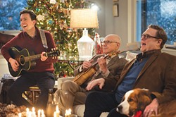 "The song remains the same: Ed Helms, Alan Arkin, John Goodman and ""Rags"""