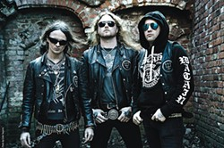 Hungry darkness: Watain (Erik Danielsson, left) - PHOTO COURTESY OF ESTER SEGARRA