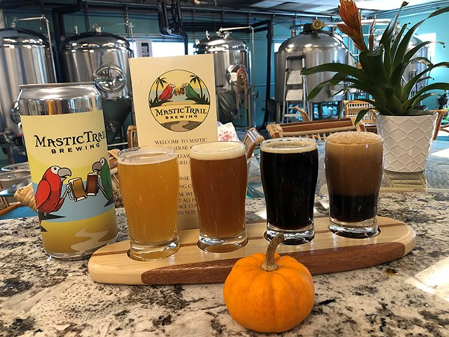 PHOTO: COURTESY OF MYSTIC TRAIL BREWING