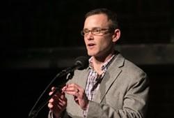 Moth GrandSLAM host Alan Olifson
