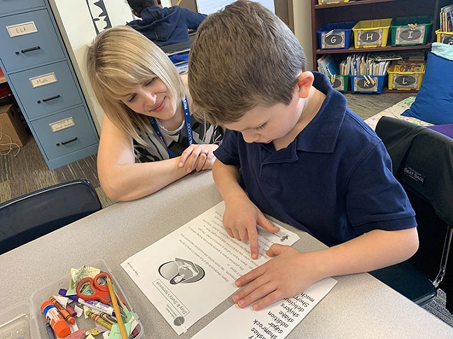 READING — Propel School's innovative K-2 Reading Initiative ensures that all scholars are reading at or above grade level by the time they complete second grade and setting the foundation for years of continued education achievement.