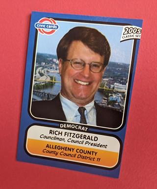 Rich Fitzgerald's 2005 CivicCard - CP PHOTO: LISA CUNNINGHAM