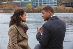 Along the Allegheny: Gugu Mbatha-Raw and Will Smith