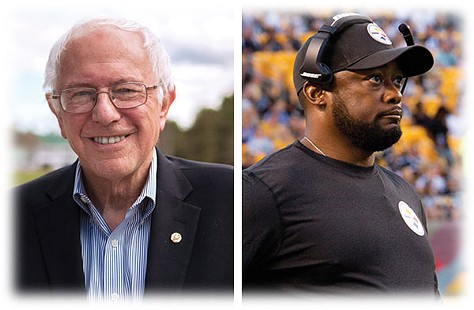 2016 predictions include President Bernie Sanders and a bad postseason for the Steelers - PITTSBURGH STEELERS COACH MIKE TOMLIN PHOTO BY HEATHER MULL