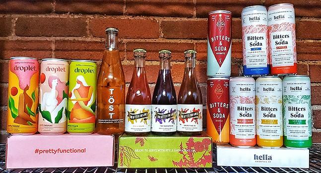 Mocktails from The Open Road Bar - PHOTO: MEL BABITZ