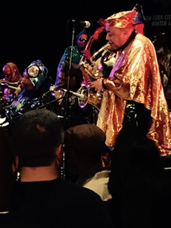 Danny Thompson of Sun Ra Arkestra - MIKE SHANLEY