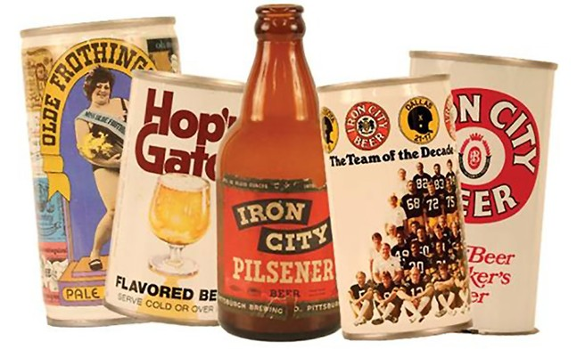 Vintage Iron City cans and bottles housed in the Heinz History Center - CP FILE PHOTO: HEATHER MULL