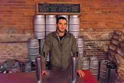 War Streets Brewery co-owner Jake Bier - PHOTO BY AARON WARNICK
