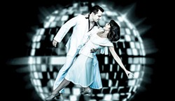 Anthony Crouchelli stars in Saturday Night Fever at Pittsburgh Musical Theater.