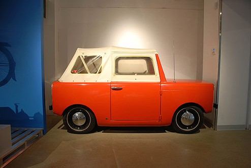 A Westinghouse electric car from the 1960s - PHOTO COURTESY OF HEINZ HISTORY CENTER