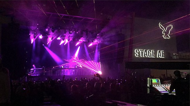 The inside stage at Stage AE. - CP PHOTO: JORDAN SNOWDEN