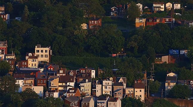 Pittsburgh's Polish Hill neighborhood - CP PHOTO: JARED WICKERHAM