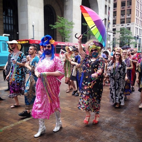 Pittsburgh Pride March 2015 - PHOTO BY LISA CUNNINGHAM