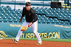 Jung Ho Kang at Pirates spring training - PHOTO BY CHARLIE DEITCH