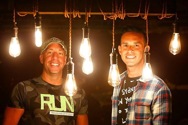 Manos Gallery owners Brian Defelices and Ernesto Camacho Jr. - CP PHOTO: JARED WICKERHAM