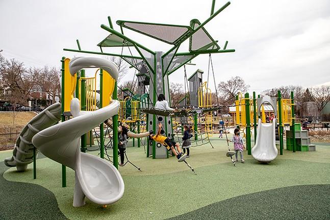 Wightman Playground in Squirrel Hill - CP PHOTO: KAYCEE ORWIG