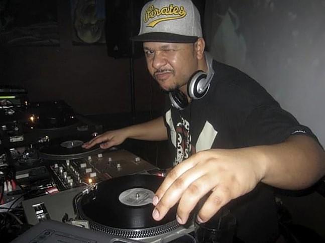 "Reese ""DJ Vex"" Brown at New Amsterdam - PHOTO: CHRISTIE BERGER"