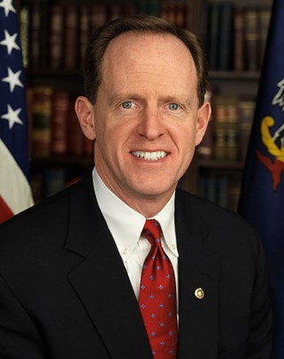Sen. Pat Toomey is against the nomination of Judge Merrick Garland to the U.S. Supreme Court - OFFICIAL UNITED STATES SENATE PORTRAIT