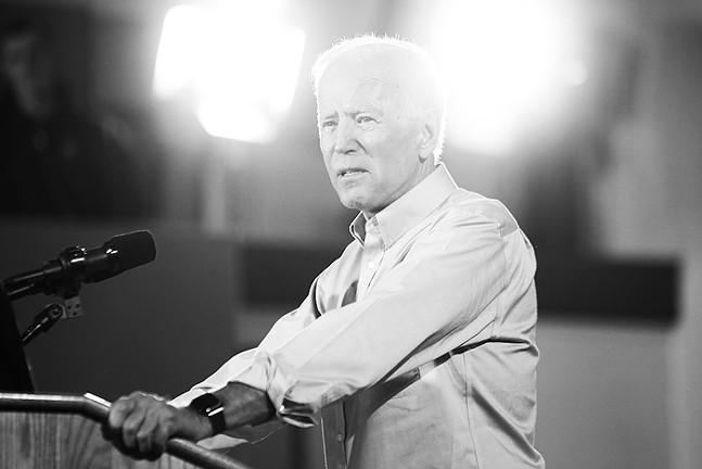 Joe Biden in Pittsburgh in April 2019 - CP PHOTO: JARED WICKERHAM