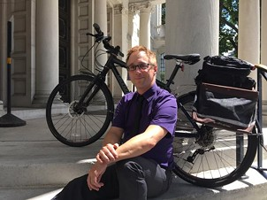 PennDOT Bike/Pedestrian Coordinator Roy Gothie - PHOTO COURTESY PENNDOT