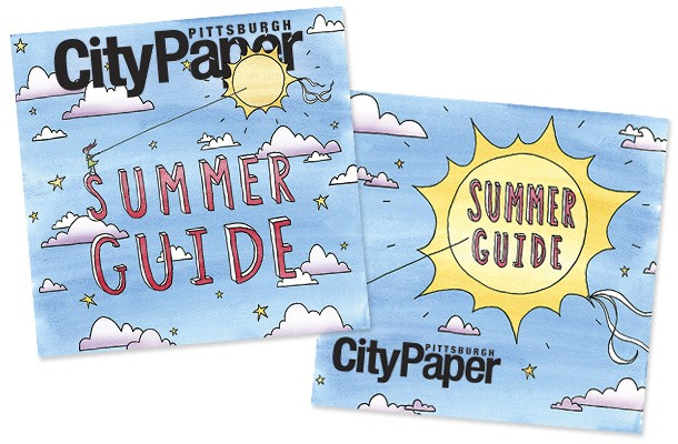 Emily Traynor's Summer Guide cover illustrations