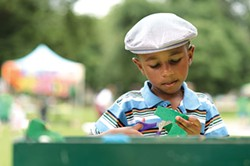 Citiparks Roving Art Cart, June 14-Aug. 5 - PHOTO COURTESY OF CITIPARKS