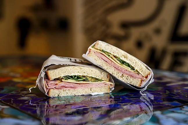 Jambon Liberty Sandwich at Claussen Cafehaus - CP PHOTO: KAYCEE ORWIG