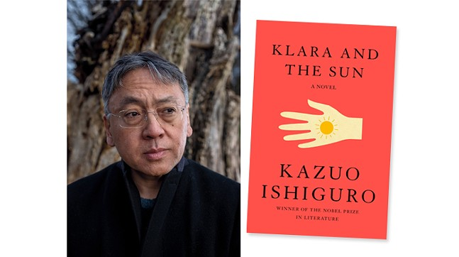 Kazuo Ishiguro with Pittsburgh Arts and Lectures - PHOTO: ANDREW TESTA