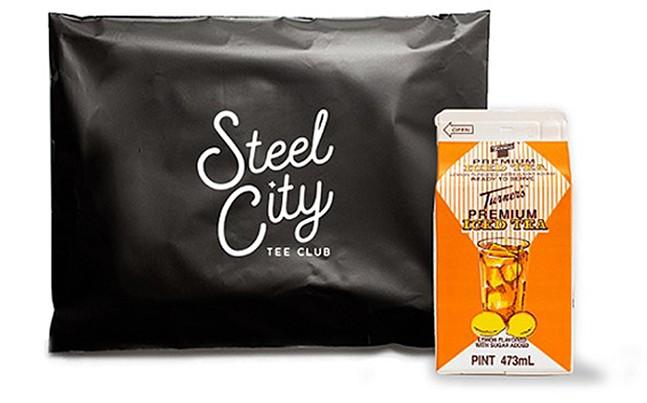 Steel City Tee Club x Turner's Tea collab