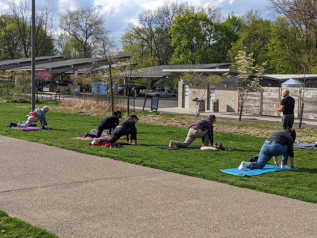 Intro to Hatha Yoga - PHOTO: COURTESY OF PITTSBURGH PARKS