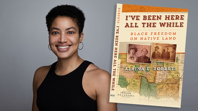 Alaina E. Roberts with Pittsburgh Arts and Lectures - PHOTO: COURTESY OF ALAINA E. ROBERTS