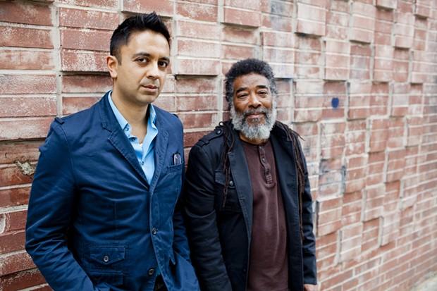 Vijay Iyer (left) and Wadada Leo Smith - COURTESY OF JOHN ROGERS AND ECM RECORDS