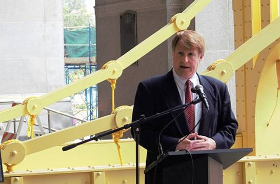 Allegheny County Executive Rich Fitzgerald - PHOTO BY BILLY LUDT