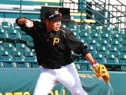 Jung Ho Kang - PHOTO BY CHARLIE DEITCH