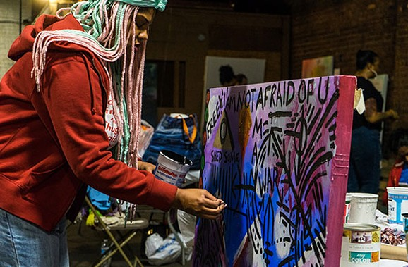 Art All Night - PHOTO BY AARON WARNICK