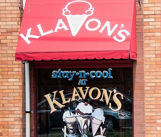 Klavon's 28th Street Ice Cream Parlor - PHOTO BY LUKE THOR TRAVIS