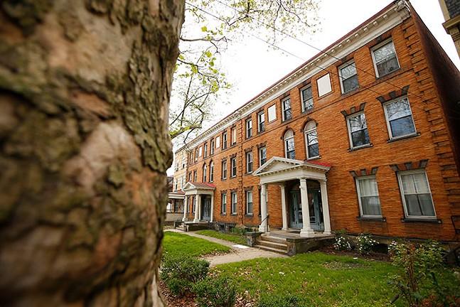 Nikki's apartment building in Bloomfield - CP PHOTO: JARED WICKERHAM