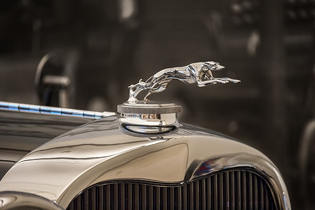Cast in Chrome: The Art of Hood Ornaments at The Frick Pittsburgh - PHOTO: BENJAMIN MATTHEWS