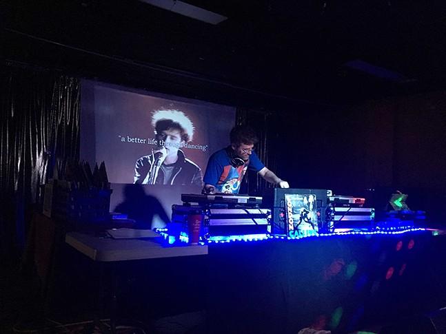 Strangeways performing at Cattivo
