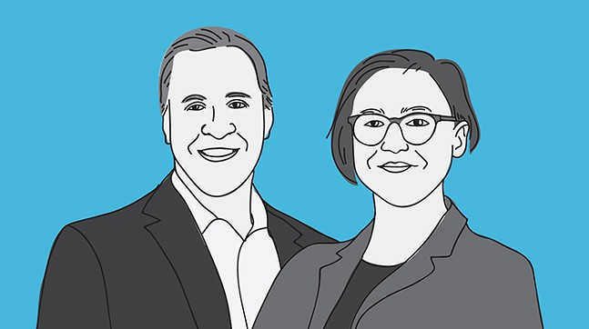 Anthony Coghill and Bethani Cameron - CP ILLUSTRATION: ABBIE ADAMS