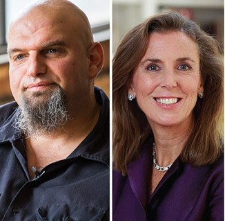 John Fetterman and Katie McGinty - PHOTO COURTESY OF THE CANDIDATES