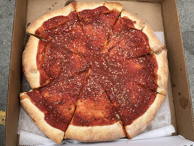 The Red Top from Armando's Pizza - CP PHOTO: RYAN DETO