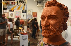Portrait of John Riegert (foreground) by Duncan McDiarmid - CP PHOTO BY STEPHEN CARUSO