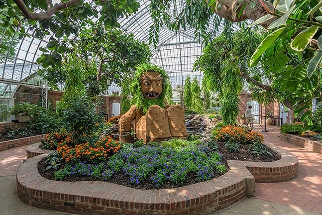The Hidden Life of Trolls at Phipps Conservatory and Botanical Gardens - PHOTOS: PAUL G. WIEGMAN