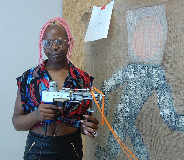 Assemble presents Future Correspondence, by Pittsburgh-based artist Khadijat Yussuf - PHOTO: COURTESY OF ASSEMBLE